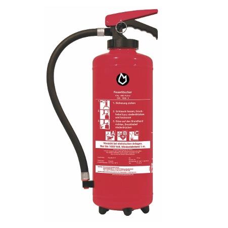 6 kg Pulver-Auflade-Feuerlöscher