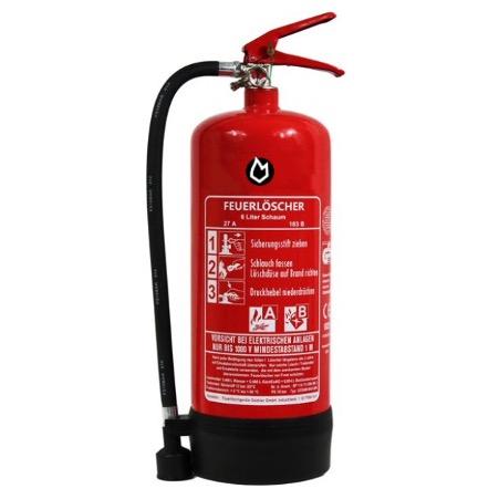 6 ltr. Schaum-Dauerdruck-Feuerlöscher