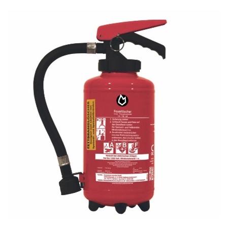 3 ltr. Fettbrand-Auflade-Feuerlöscher