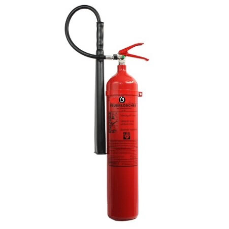 5 kg CO2-Dauerdruck-Feuerlöscher