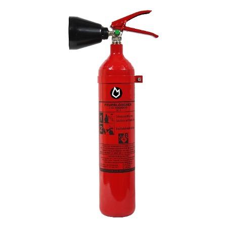 2 kg CO2-Dauerdruck-Feuerlöscher