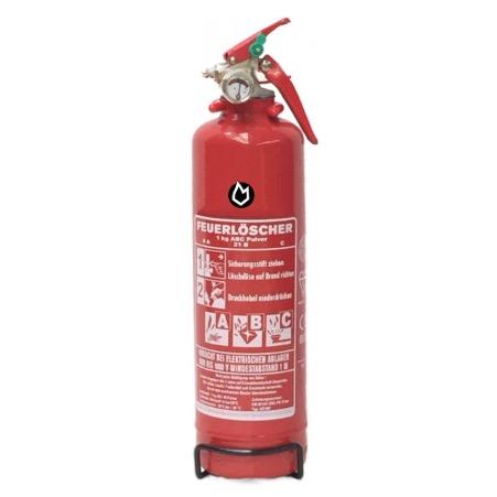 1 kg Pulver Dauerdruck-Feuerlöscher