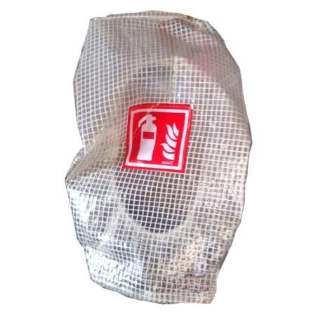 Gitternetzschutzhaube für Feuerlöscher
