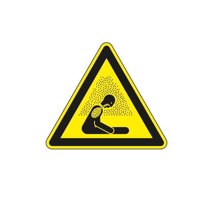Hinweis-Schild: Warnung vor Erstickungsgefahr